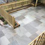 Sandstone Patio – Lostwithiel
