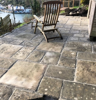 Existing patio renovation – Bodinnick