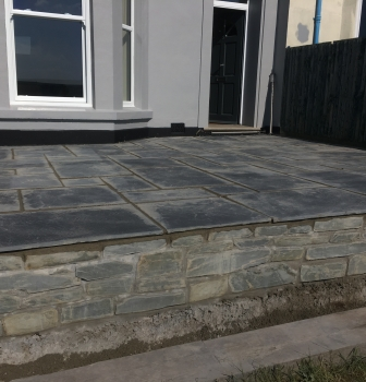Lostwithiel Patio