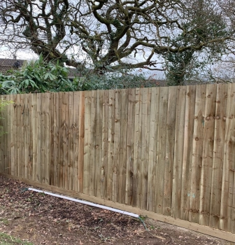 Lanwithen Close Fencing