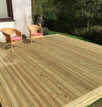 Decking – Lostwithiel
