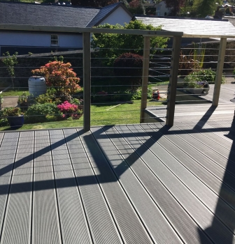 Composite Decking – Lostwithiel